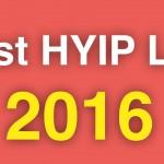 2016年までに初めておくべきHYIPベスト3