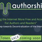 【ICO】今だけ最低10$のトークンが無料で手に入る仮想通貨「Authorship(オーサーシップ)」についてまとめてみた
