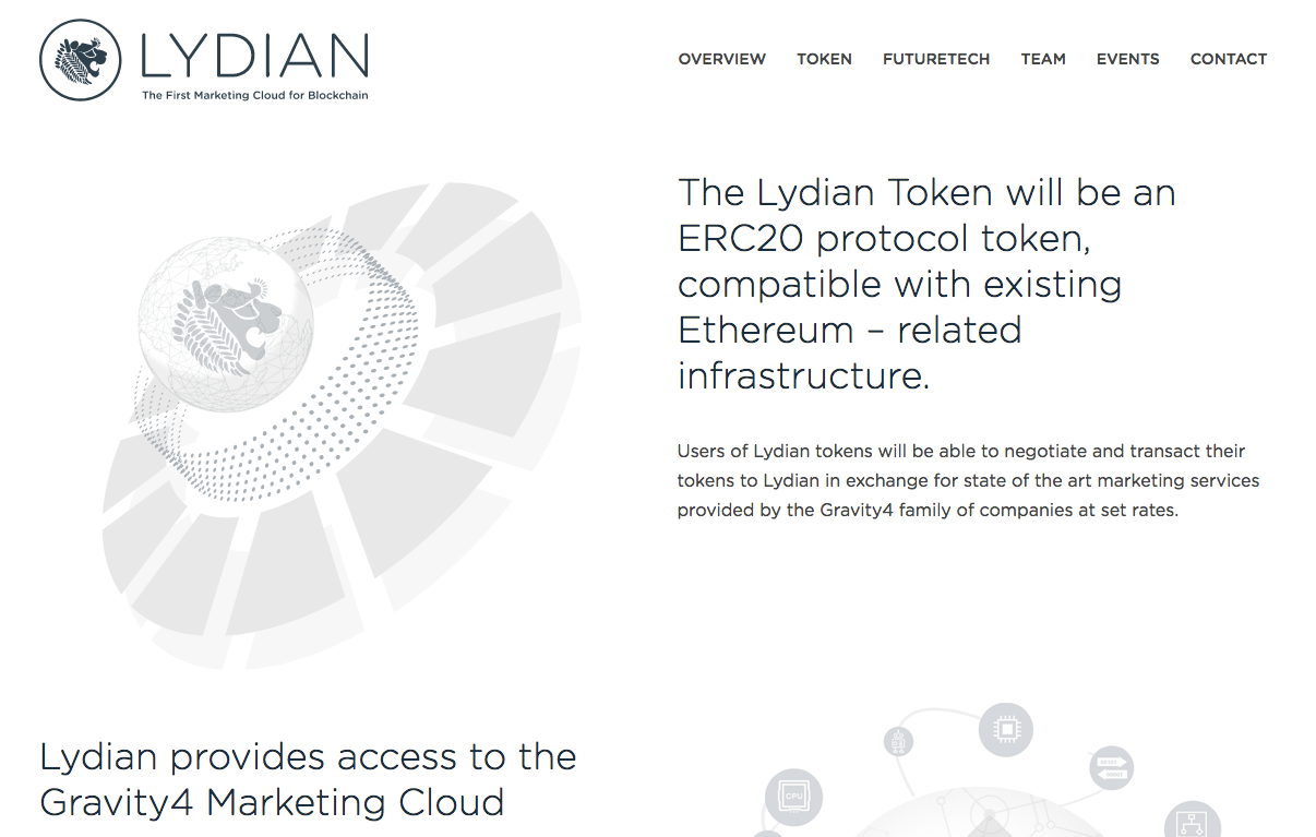 Lydian 仮想通貨