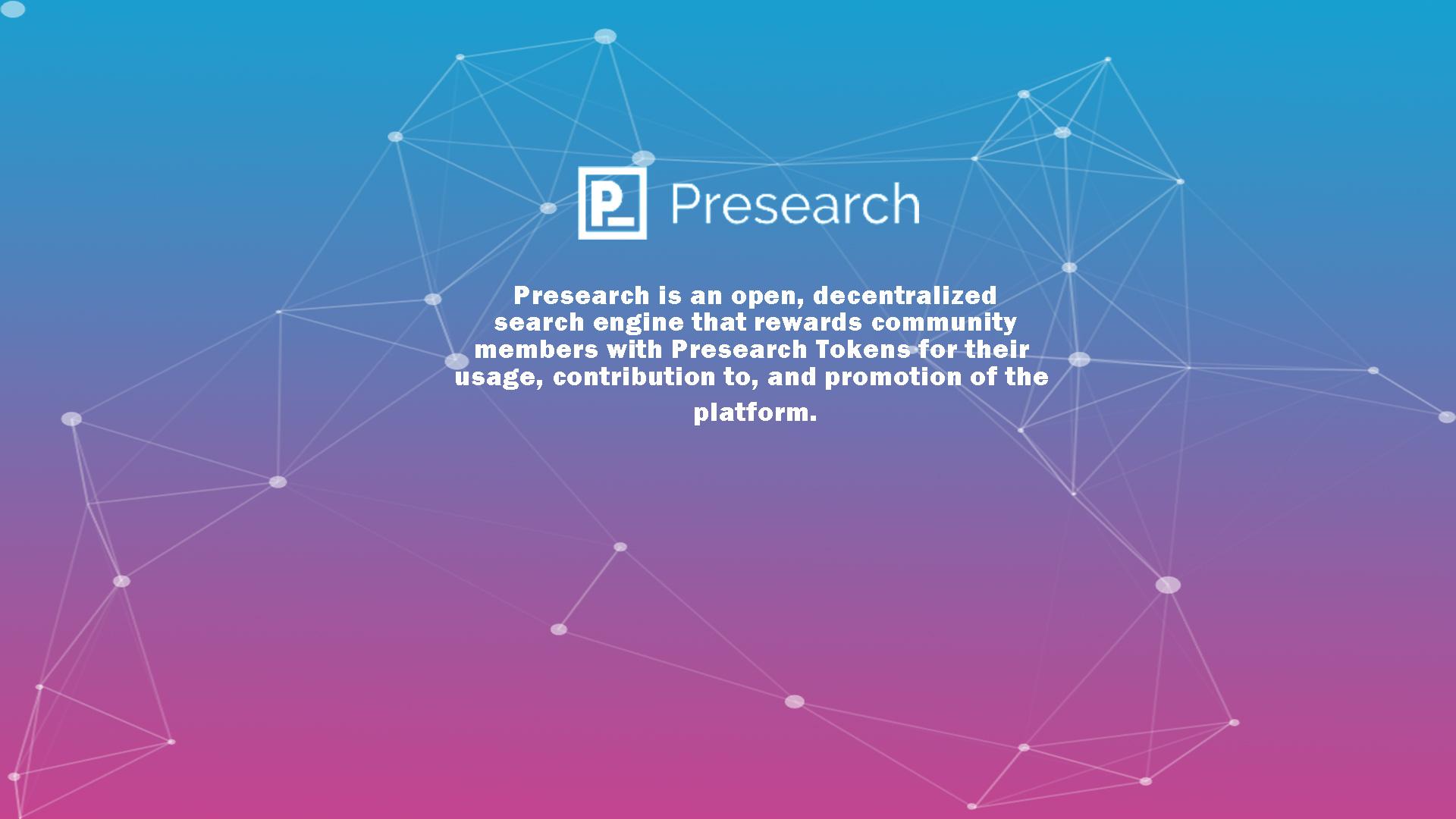 prsearch ICO