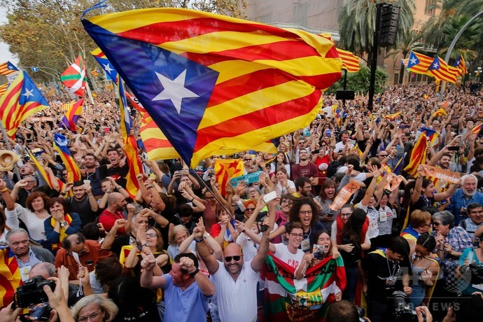 スペイン カタルーニャ 仮想通貨 ブロックチェーン
