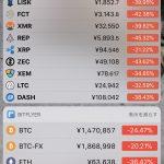 【仮想通貨】12月22日に仮想通貨市場が全体的に20〜30%下落!?バブル崩壊!?世はまさに『大暴落時代』情報についてまとめてみた