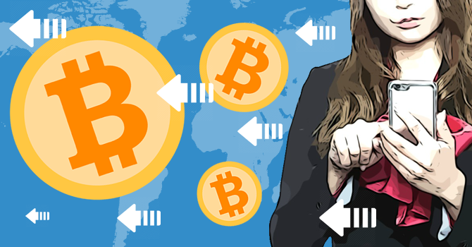 Bitcoin(ビットコイン)送金待ち
