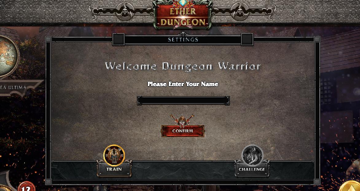 Ethereum(イーサリアム) dapps Ether Dungeon