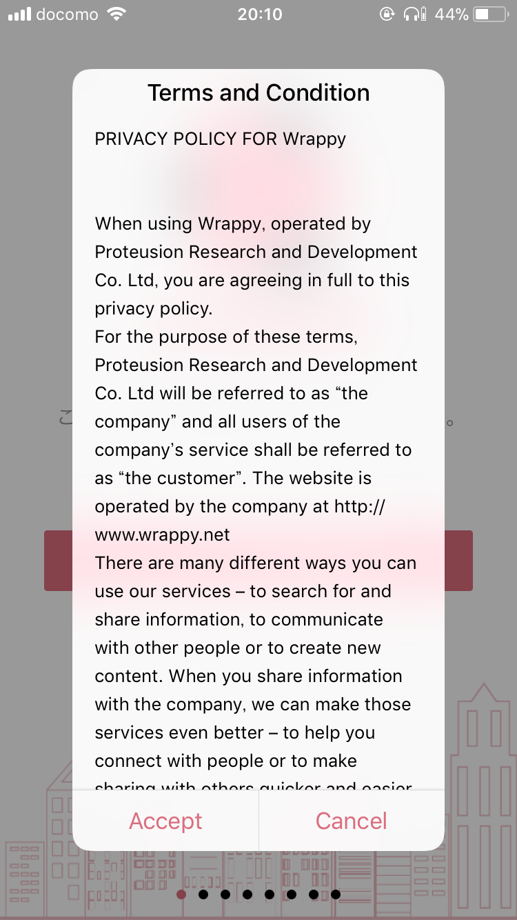 Wrappy(ワッピー) 登録 方法