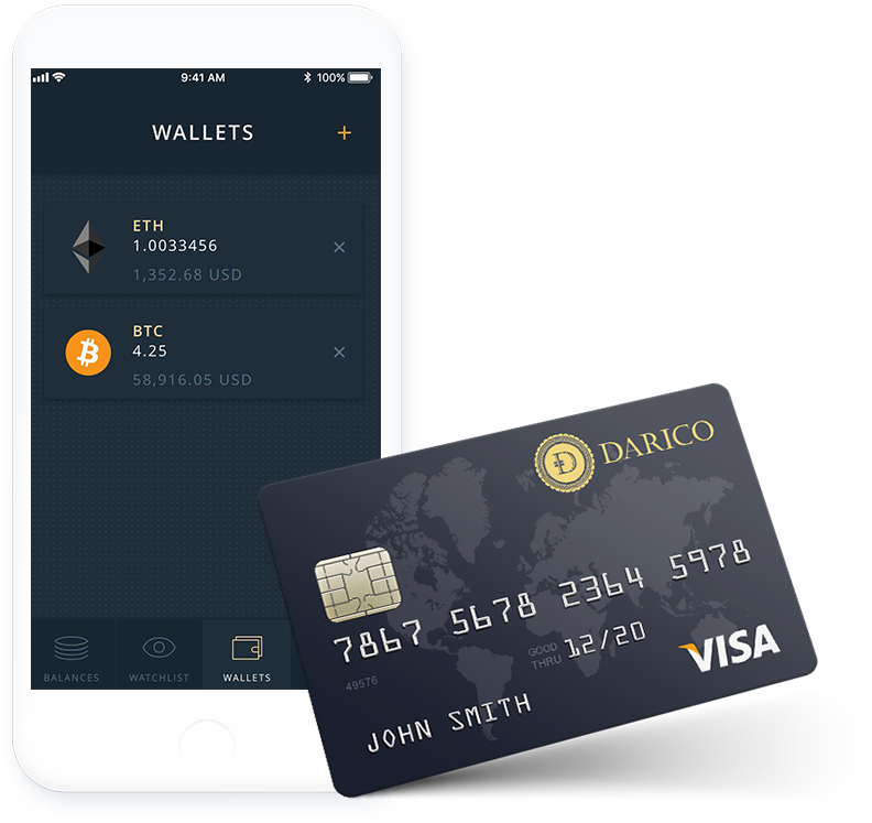 Darico(ダリコ)  Debit Card DePay