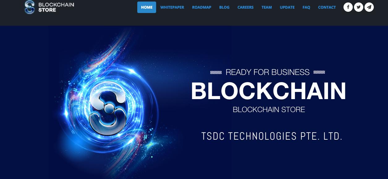 BlockChainStore(BCS) ICO