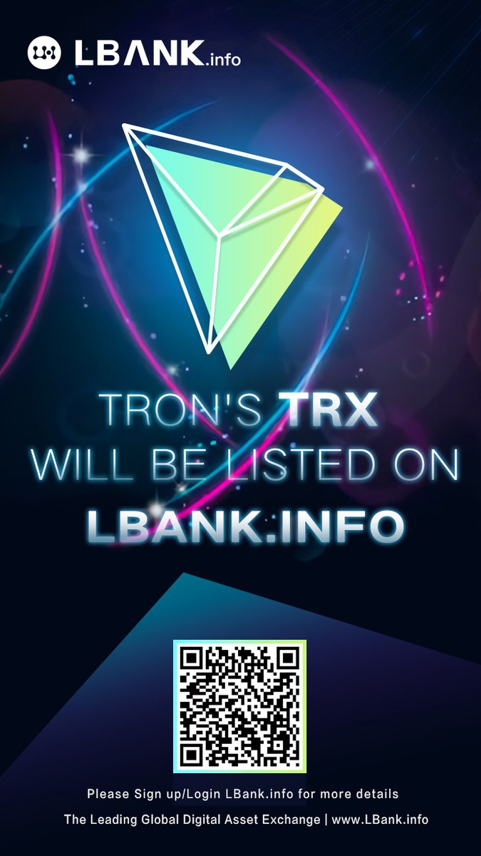 TRON(トロン) LBANK 上場