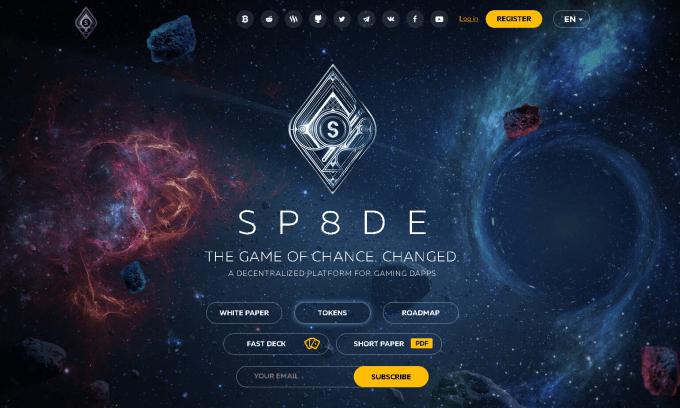SP8DE jackpot(ジャックポット) ICO