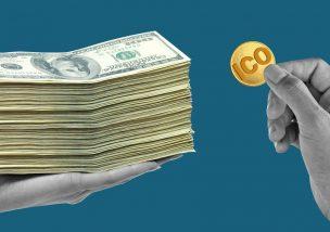ICO 上場 仮想通貨取引所 5万ドル 100万ドル 料金 請求