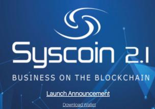 Syscoin(シスコイン) 仮想通貨