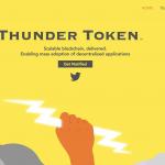 【仮想通貨】瞬時に送金を行えるP2Pの仮想通貨「Thunder Token(サンダートークン)」についてまとめてみた
