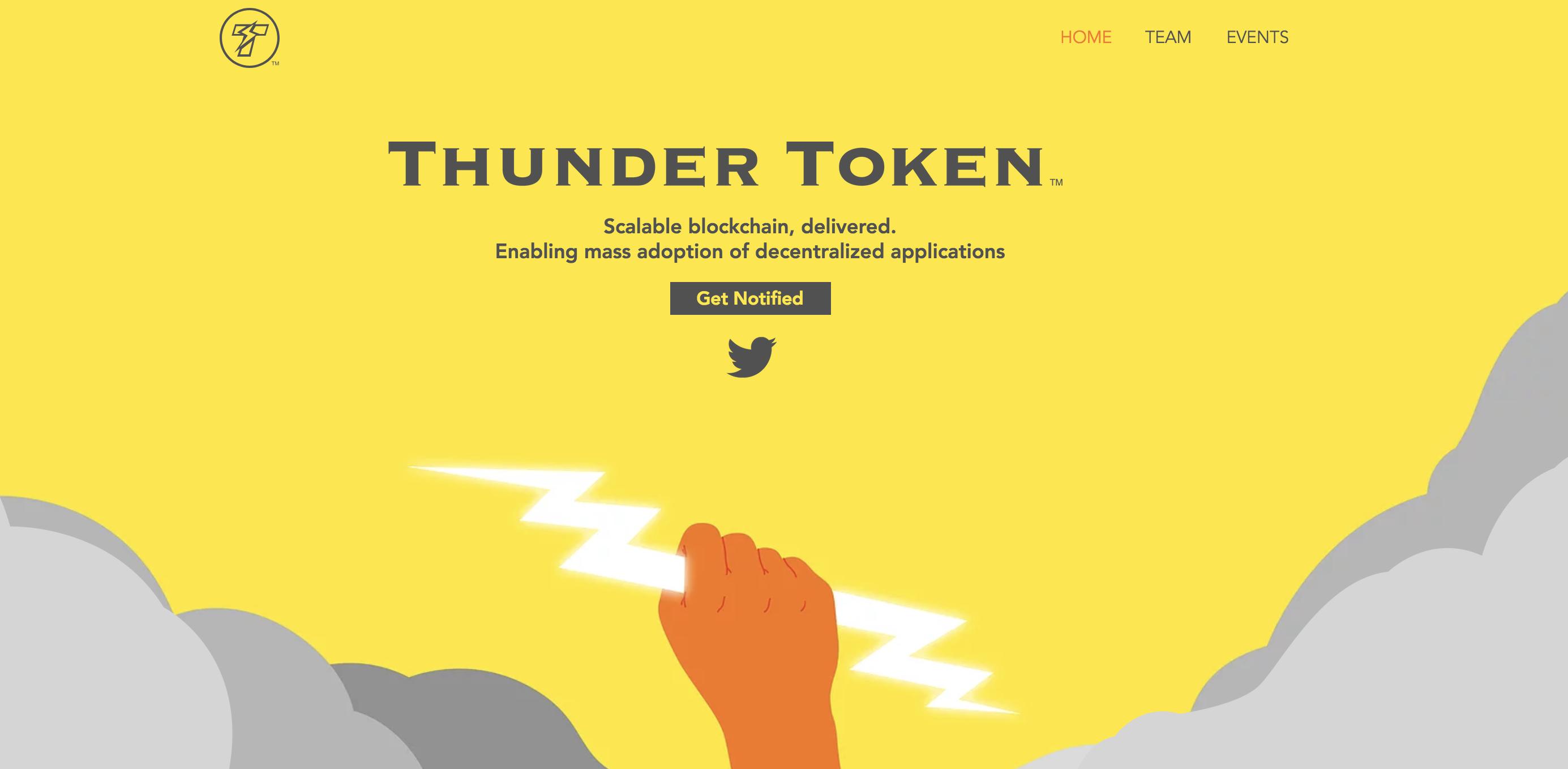 Thunder Token(サンダートークン) 仮想通貨
