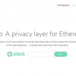 【ICO】Ethereumのためのプライバシーレイヤーの仮想通貨「Keep Network(KEEP)」についてまとめてみた