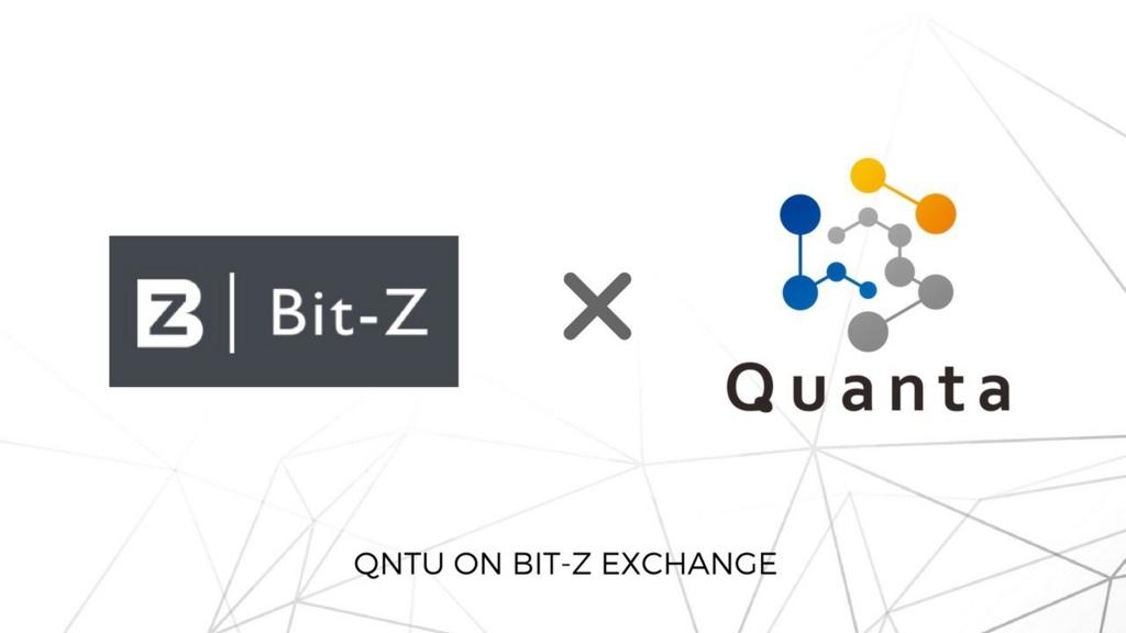 Quanta(クオンタ) 5月30日 Bit-Z(ビットジー) 上場