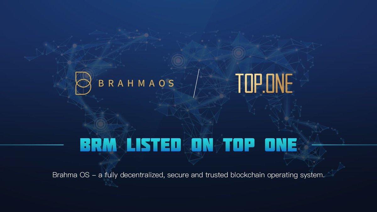 BrahmaOS(ブラフマOS) TOP ONE 上場