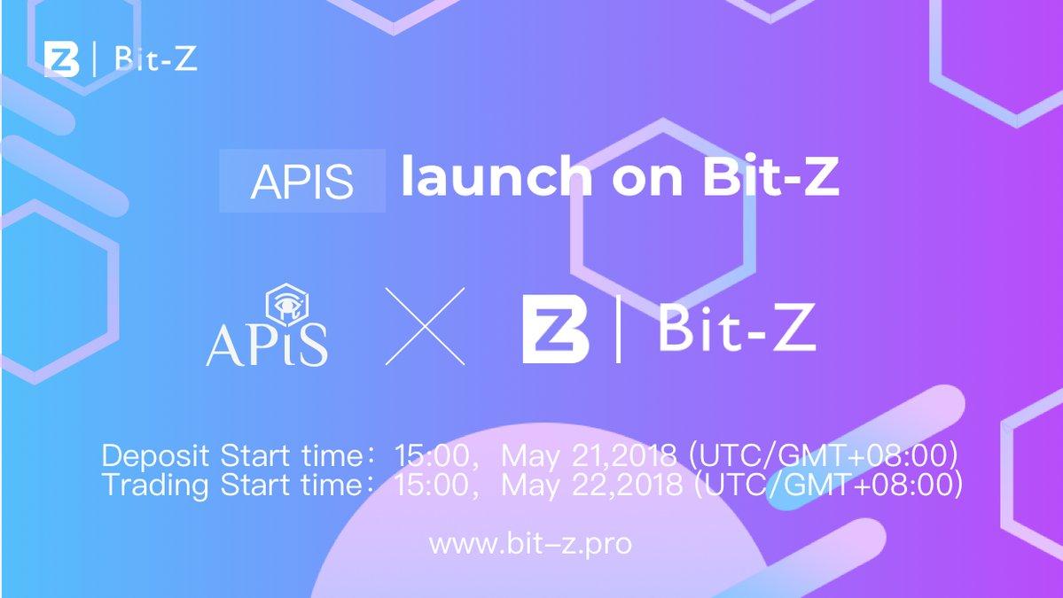 APIS(エイピス) Bit-Z(ビットジー) 上場