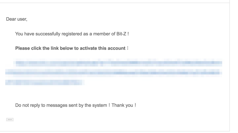 Bit-Z(ビットジー) 登録方法