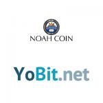 NoahCoin(ノアコイン) Yobit(ヨービット) 上場