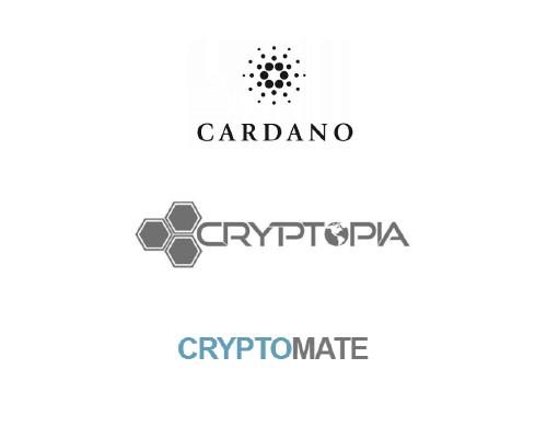 Cardano(カルダノ) ADACoin(エイダコイン) Cryptopia Cryptomate 上場
