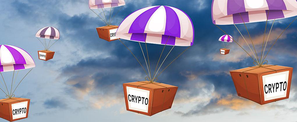仮想通貨 Airdrop(エアドロップ)