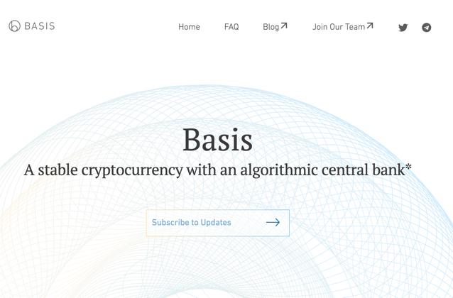 Stable Coin(ステーブルコイン) ペッグ通貨 Basis(ベーシス)