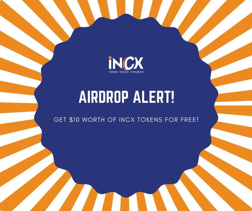 International CryptoX (INCX) Airdrop(エアドロップ)