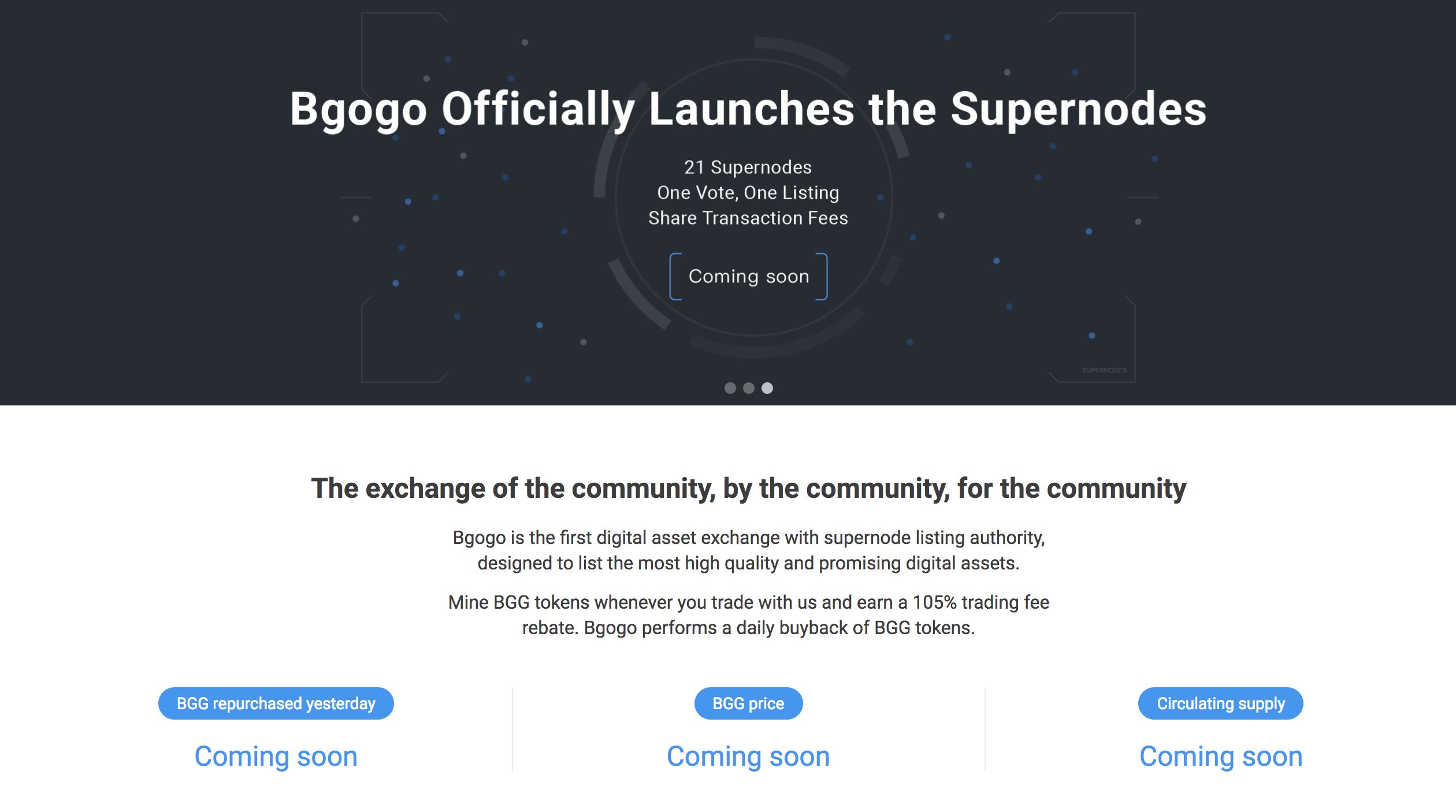 Bgogo(BGG) ICO