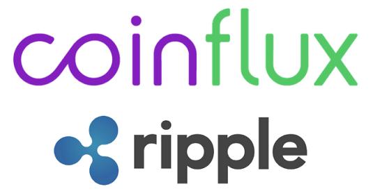 Ripple(リップル) ルーマニア Coinflux(コインフラックス) 上場