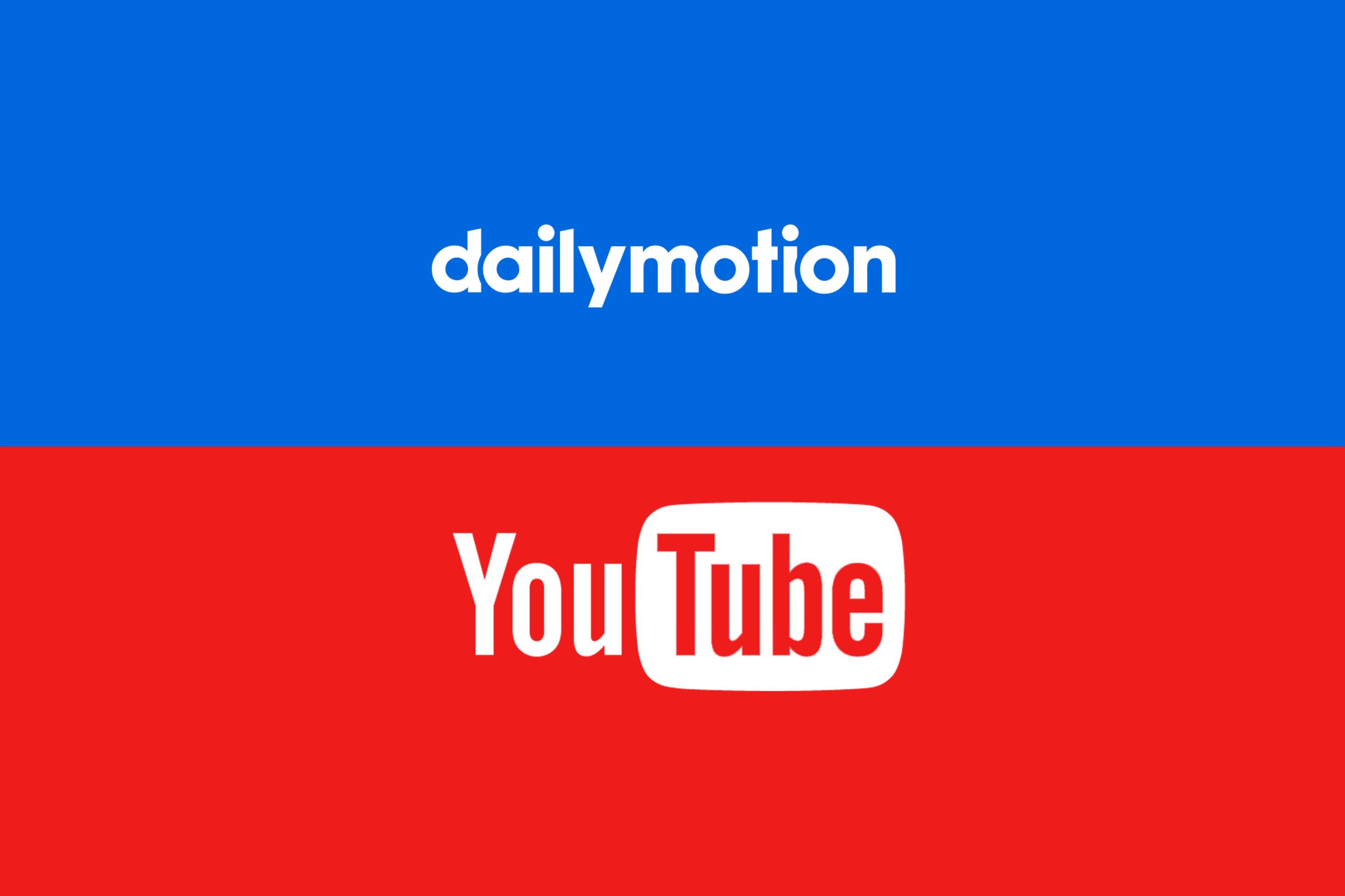 Dailymotion(デイリーモーション) YouTube(ユーチューブ) 違い
