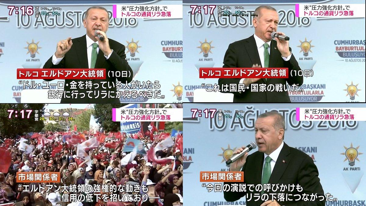 トルコリラ エルドアン 大統領