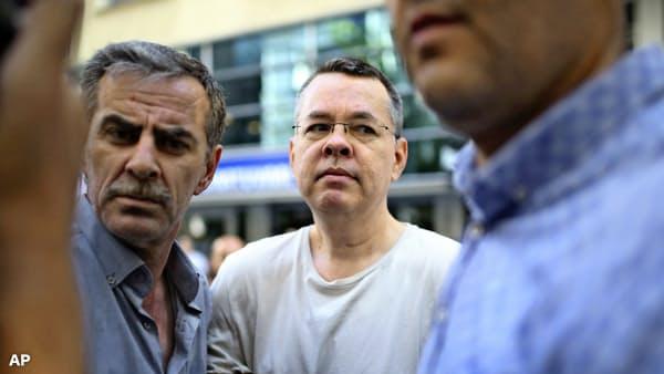 アンドルー・ブランソン牧師 開放 トルコ 追加経済制裁