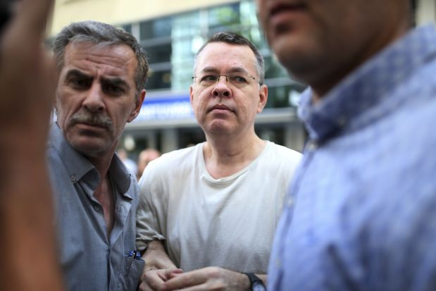 トルコ 裁判所 アンドリューブランソン牧師 釈放 認めない