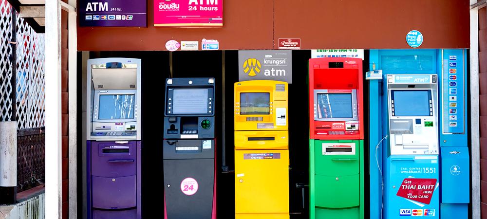 タイ ATM クレジットカード キャッシング