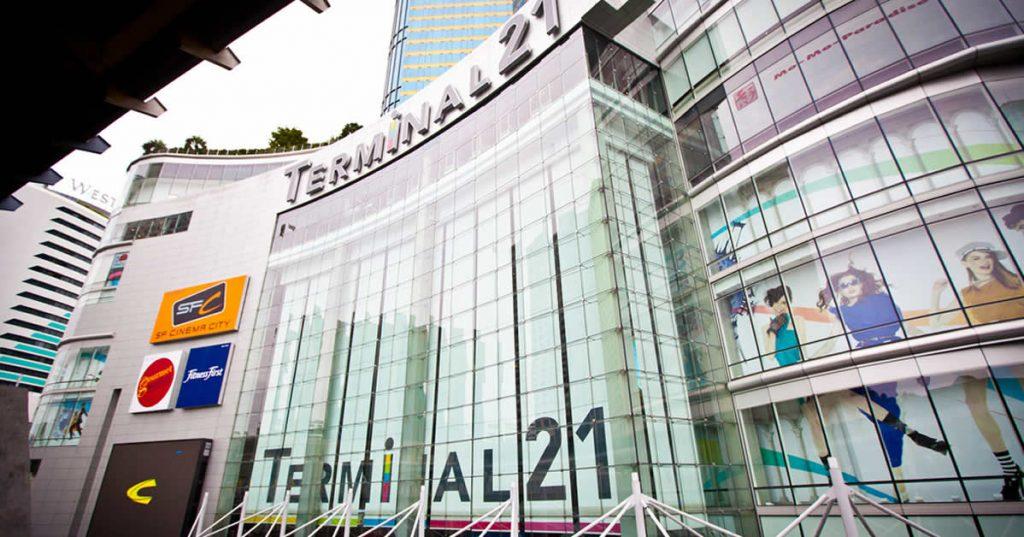 タイ 人気 ショッピングモール ターミナル21
