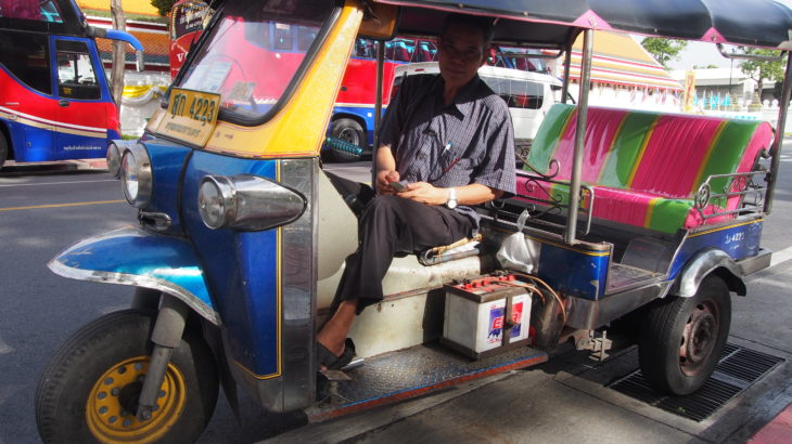 タイ トゥクトゥク ぼったくり