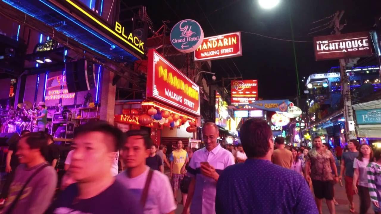 タイ 個人的 楽しかった スポット ウォーキングストリート