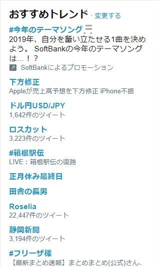 Twitter(ツイッター) ロスカット ドル円USD/JPY リスク回避 トレンド入り