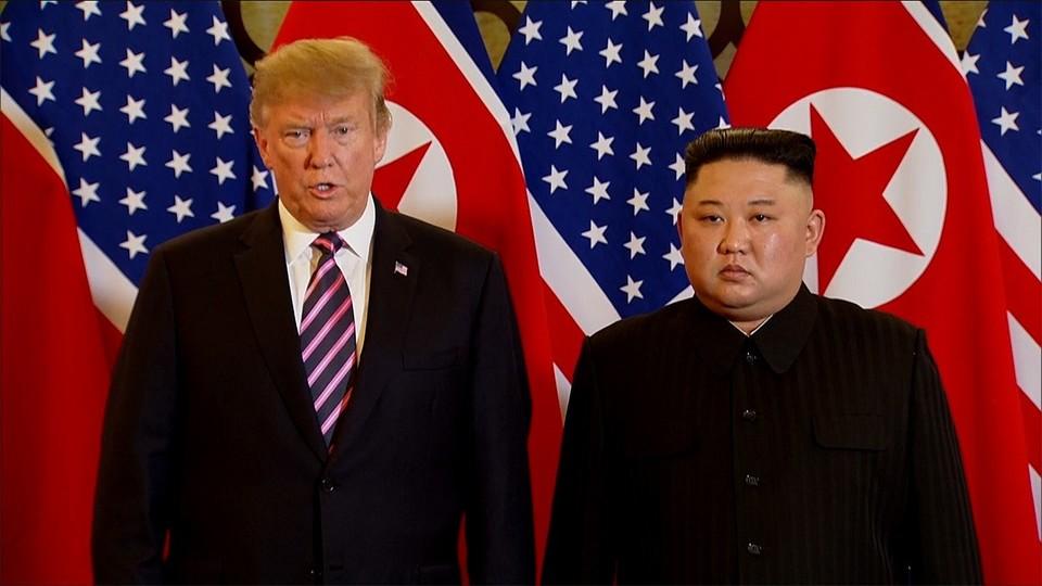 米朝首脳会談 非核化 合意