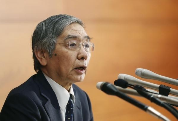 日銀 黒田総裁 物価目標追加緩和