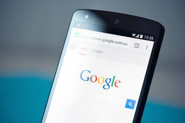 Google(グーグル) モバイル検索 ファビコン