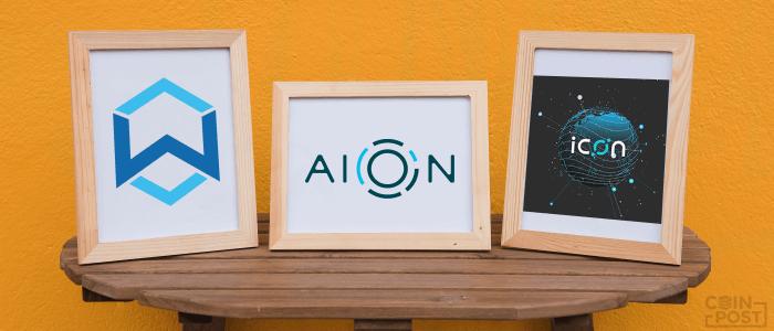 Aion ICON(アイコン)  Wanchain ブロックチェーン 相互運用同盟