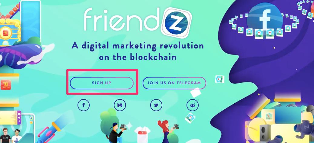 Friendz(フレンズ) 登録方法