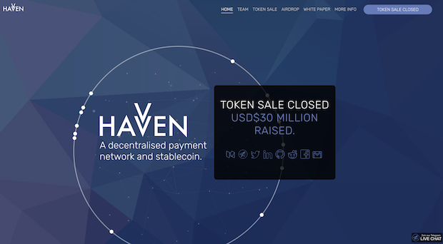 Stable Coin(ステーブルコイン) ペッグ通貨 Havven(HAV)