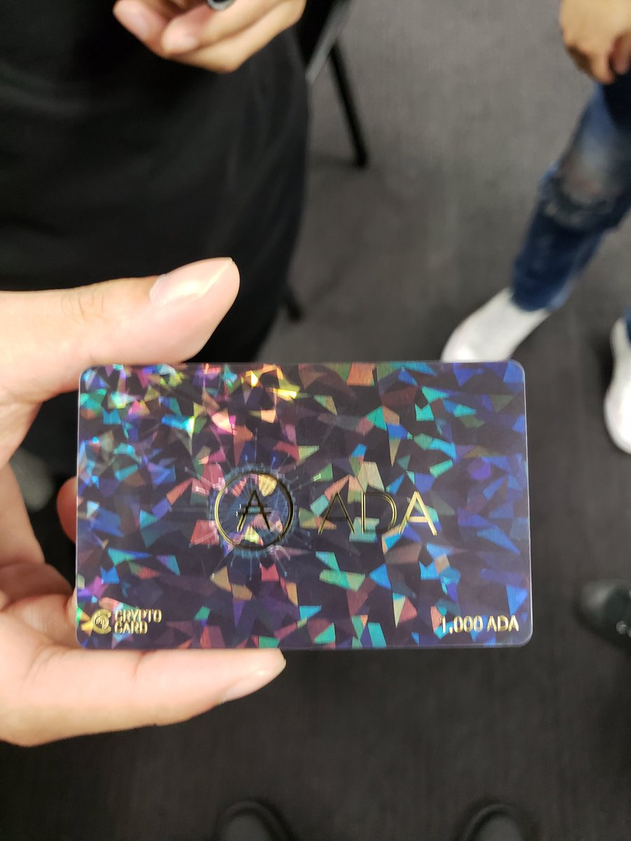 Metaps Plus(メタップスプラス) Cardano(カルダノ) ADA Crypto Card