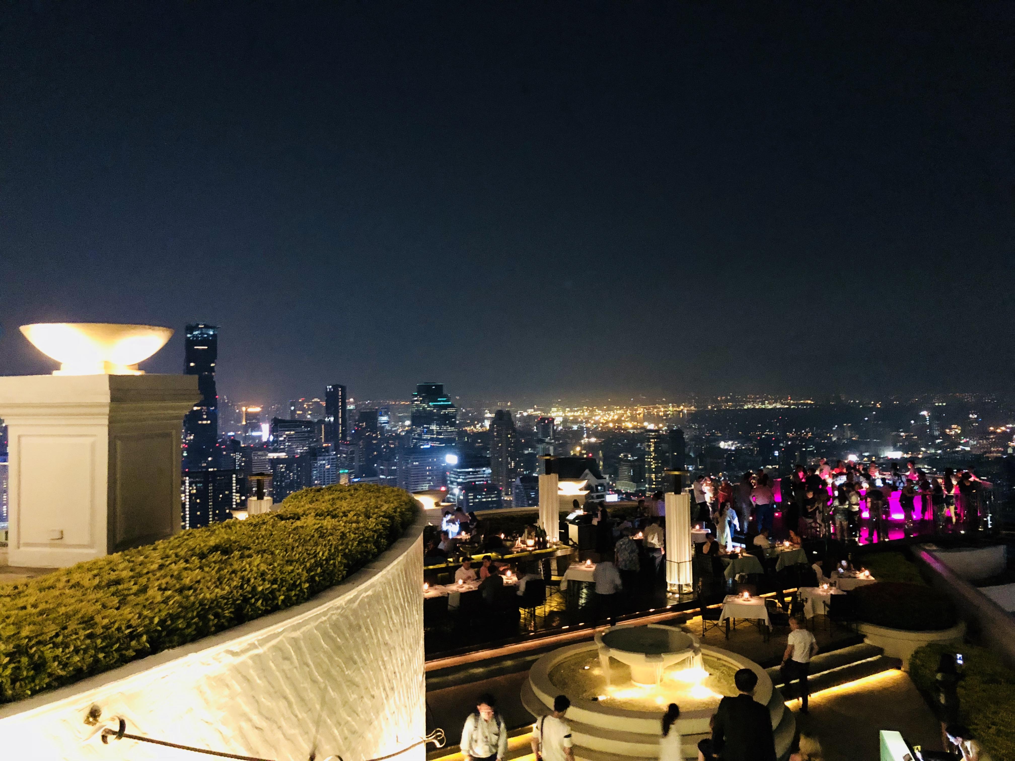 タイ 個人的 楽しかった スポット シロッコ Sky Bar
