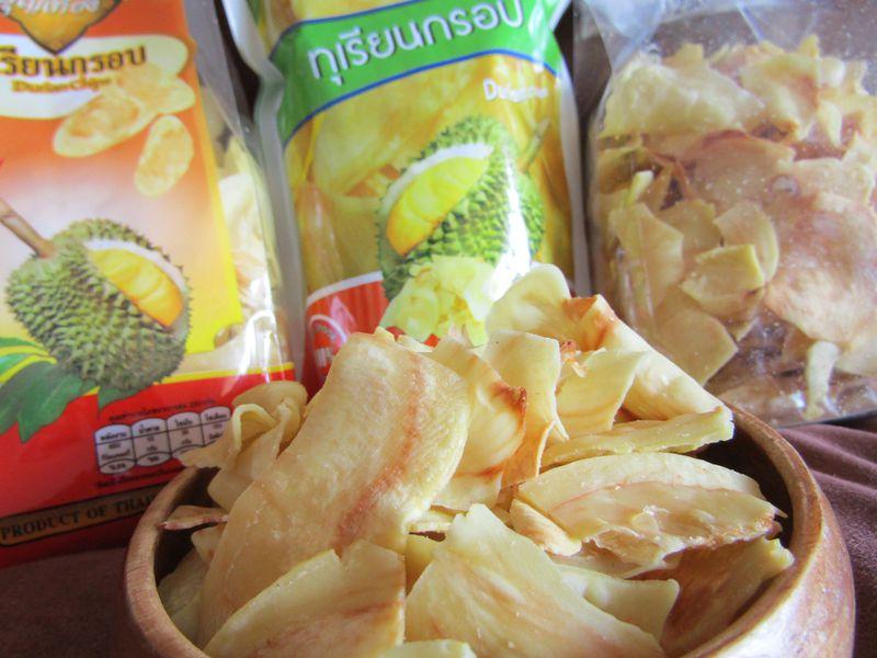 タイ おすすめ お土産 ドリアンチップス