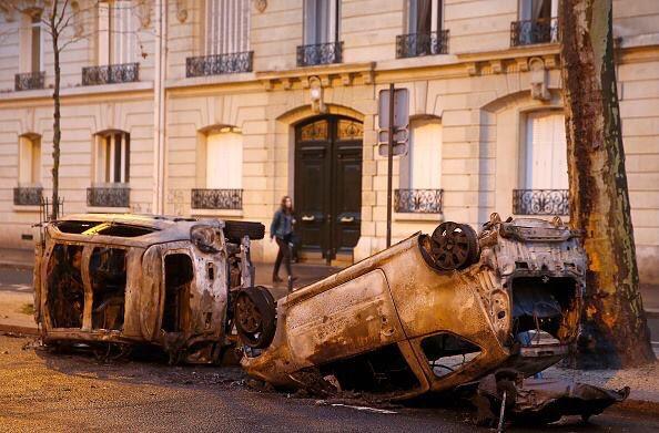 フランス パリ デモ 暴動