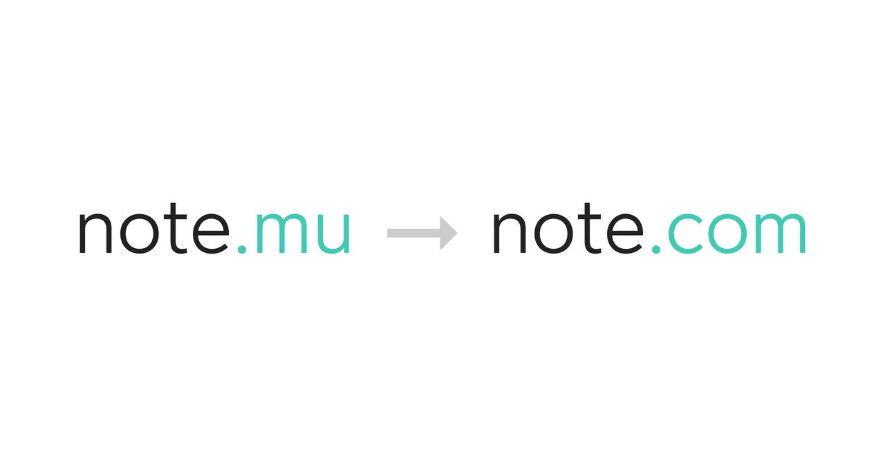 Note.mu Note.com Note.jp ドメイン取得