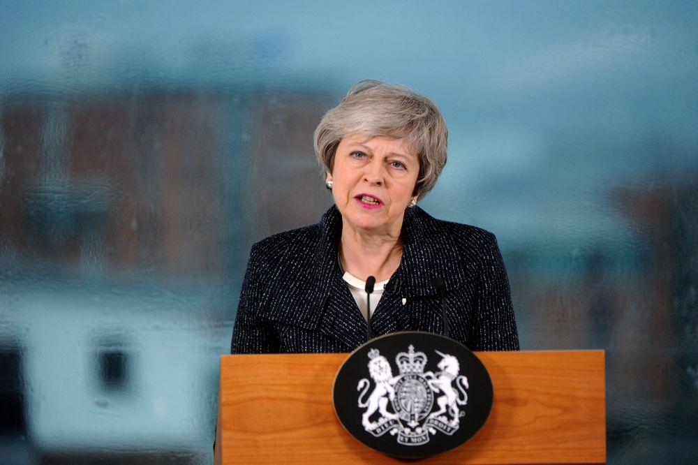 メイ英首相 5月24日 辞任 表明